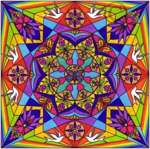 Farbiges_Mandala