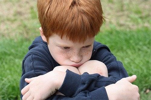 Kinder und Frustration