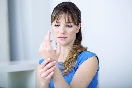 Handgelenkweh