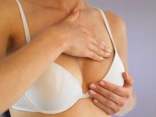 Juckreiz-Brust