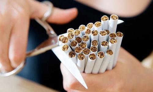 Dinge, die auf dem Weg zum Nichtraucher helfen könnten