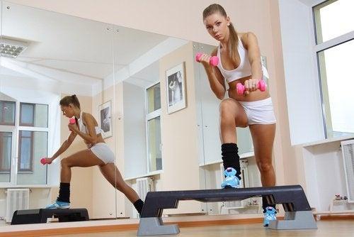 Step für straffe Beine