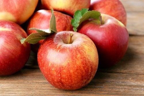 Äpfel als Magenschutzmittel