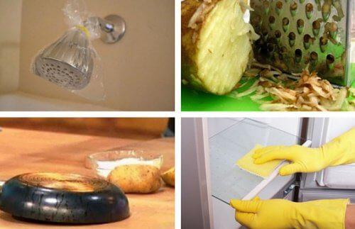 10 Tipps für die Reinigung verschiedener Haushaltsgegenstände