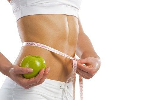 Äpfel um Abnehmen