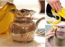 Bananenschale-Verwendungsmöglichkeiten