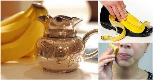 10 erstaunliche Verwendungsmöglichkeiten von Bananenschalen