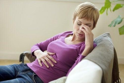 Bauchschmerzen und Magenschutzmittel