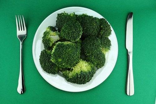 Brokkoli für die Abnehmdiät