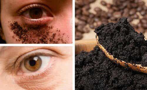 Koffeinreiche Augenmaske gegen geschwollene Augen selber machen