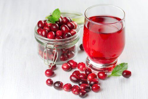 Cranberries um die Nieren zu unterstützen