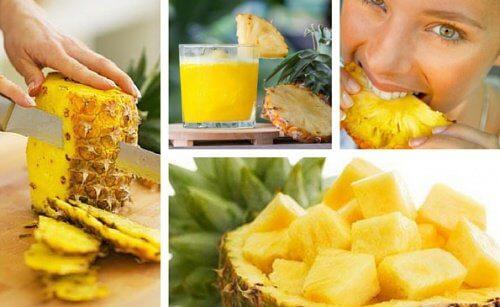 Entgiftungskur mit Ananas