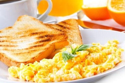 Eier für ein gesundes Frühstück