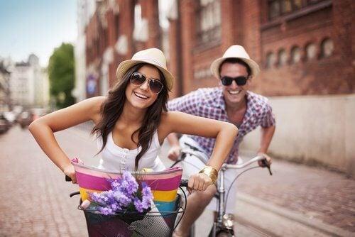 Gehirntraining Sport für glückliche Paare