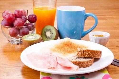 Ein gutes Frühstück zum Abnehmen