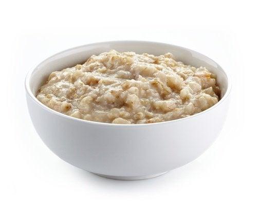 Hafer für ein gesundes Frühstück