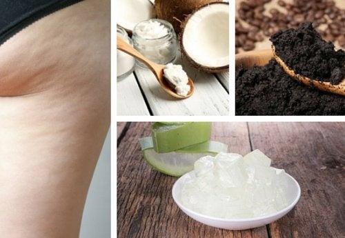 Hausgemachte Cremes gegen Cellulite und zur Hautstraffung