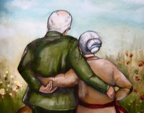 Liebe und Berührung im Alter