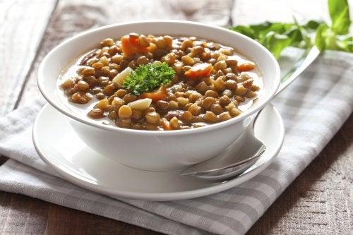 Linsen – eine Quelle reich an Proteinen und Antioxidantien