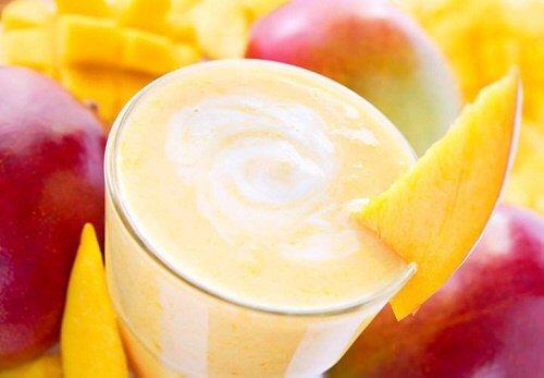 Mango Smoothie zum Abnehmen
