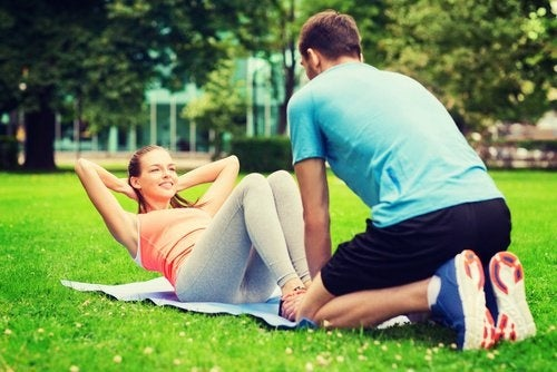 Sport für eine schöe Beziehung