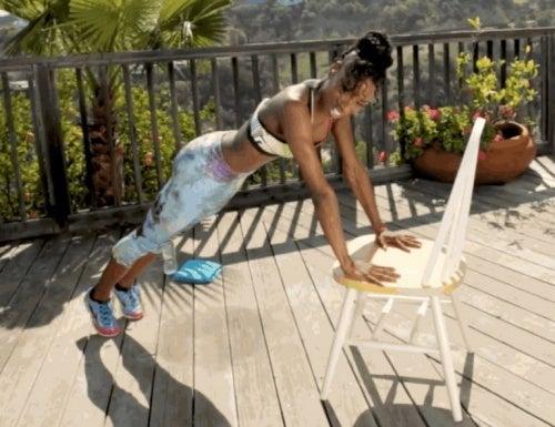 Stuhlgymnastik