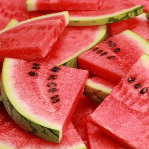 Wassermelone zum Frühstück