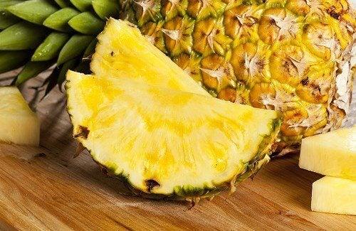 Ananas zum Abnehmen