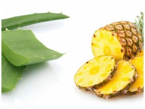 Ananas-Aloe