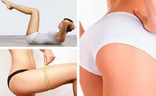 Nur 10 Minuten täglich für Bauch-Beine-Po