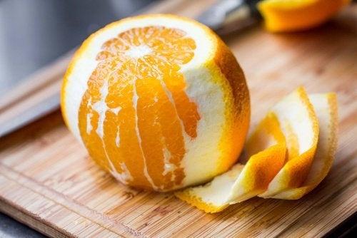 Eigenschaften der Orangenschale