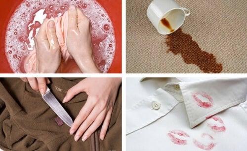 Flecken aus der Kleidung entfernen – 7 wirksame Tricks