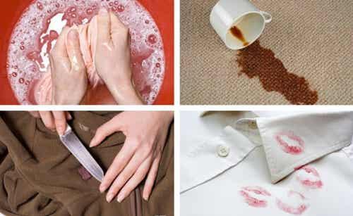 Flecken aus der Kleidung entfernen - 7 wirksame Tricks
