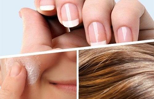 Schönheit, die von innen kommt: Nährstoffe für Haut, Haare und Nägel