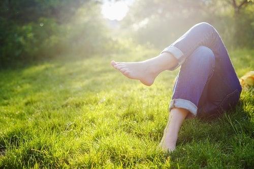 Entspannung in der Natur für ruhige Nerven