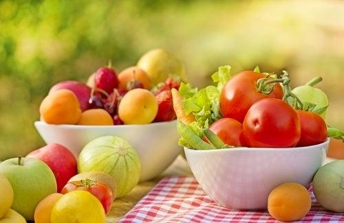 Obst und Gemüse für gute Nerven