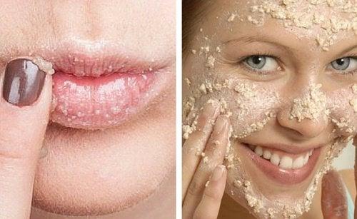 Wie du dir ein natürliches Peeling für Gesicht und Lippen zubereiten kannst