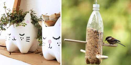 13 kreative Ideen zur Weiterverwendung von Plastikflaschen