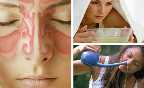 Sinusitis bei Erkältung: 9 Hausmittel, die helfen können