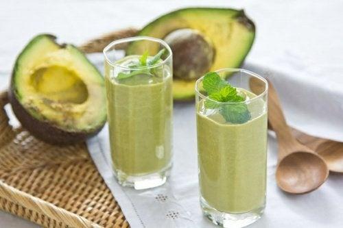 Avocado für eine gesunde Leber