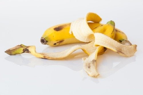 Bananenschale als Düngemittel