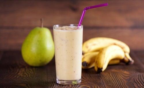 Birne und Banane gegen Durchfall