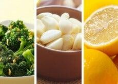 Brokkoli Zitrone Knoblauch