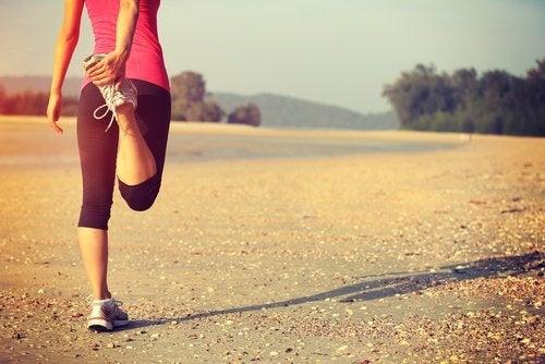 Dehnung gegen Knieschmerzen