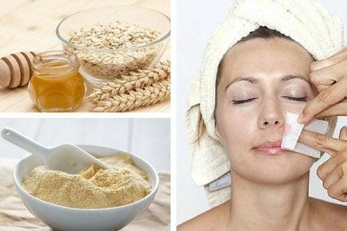 Entfernung von Gesichtsbehaarung – 2 natürliche Methoden