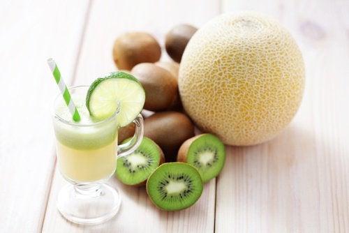 Kiwi und Honigmelone zum Abnehmen