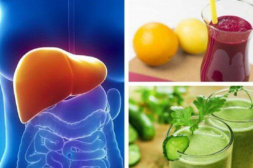 3 Shakes zur Ernährung und Reinigung der Leber