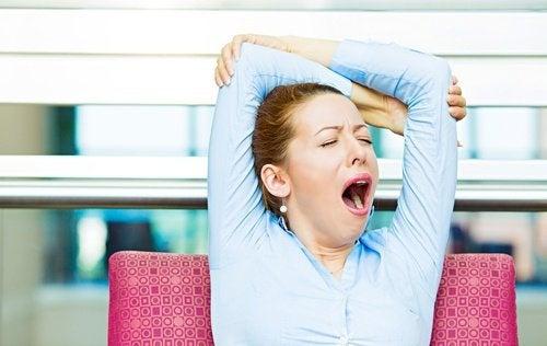 Müdigkeit-Schilddrüsenprobleme