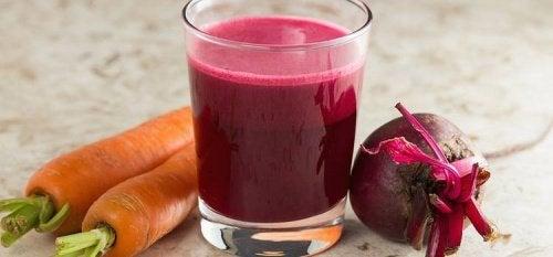 Rote Beete und Karotten zur Blut- und Leberreinigung