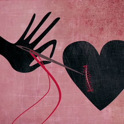 Verletztes Herz weil ich so bin